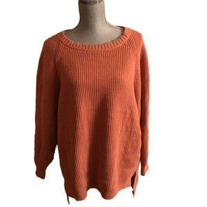 NWT Express Long Pink Oversized Sweater Medium $59
